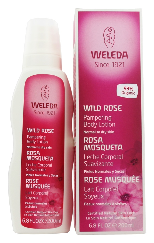 Weleda - Body Lotion Pampering Wild Rose - 6.8 oz.