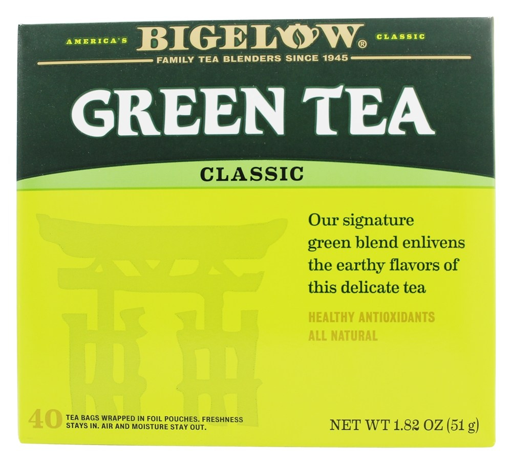 Bigelow Tea - Green Tea - 40 Tea Bags