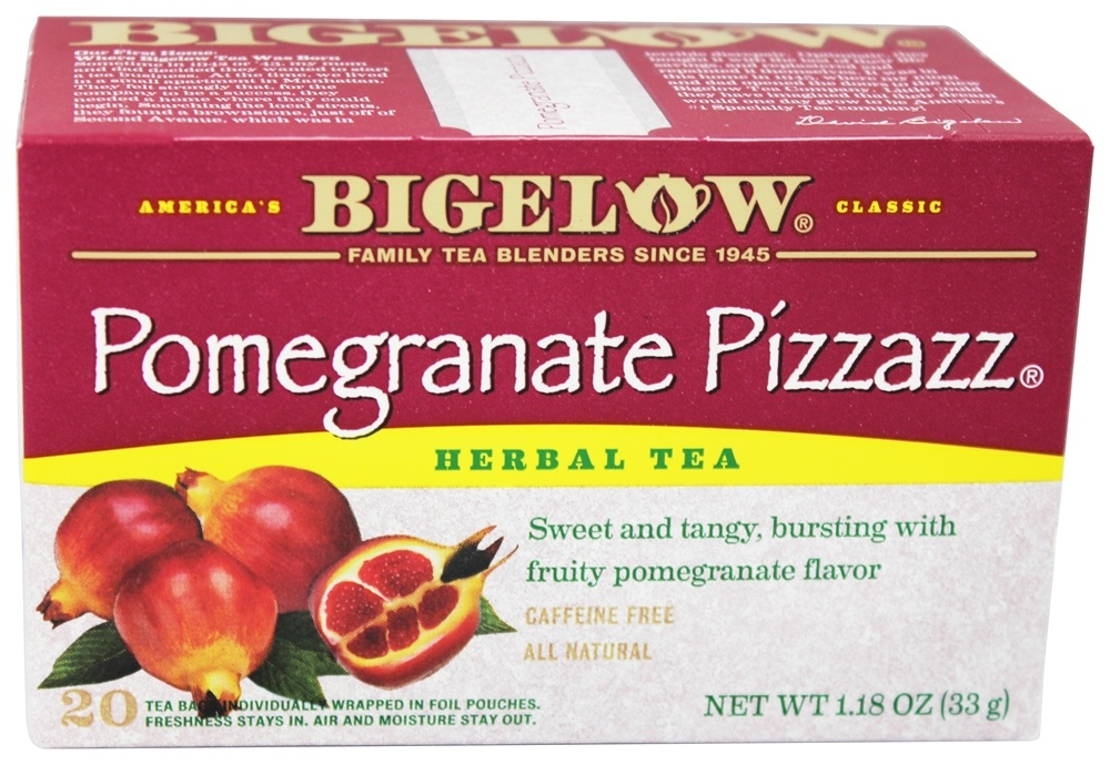 Bigelow Tea - Herb Tea Pomegranate Pizzazz - 20 Tea Bags