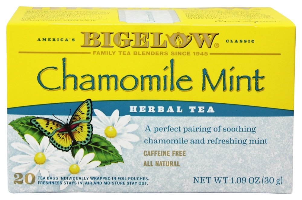Bigelow Tea - Herb Tea Chamomile Mint - 20 Tea Bags