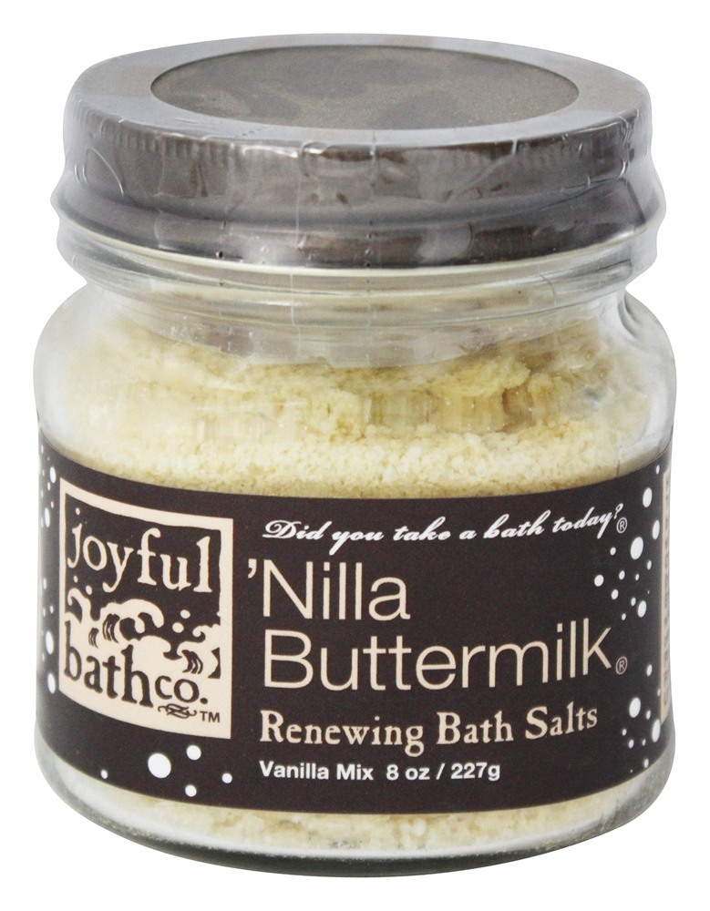 Joyful Bath Co - Bath Salts Renewing Nilla Buttermilk - 8 oz.