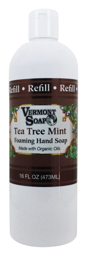 Vermont Soapworks - Foaming Hand Soap Refill Tea Tree Mint - 16 oz.