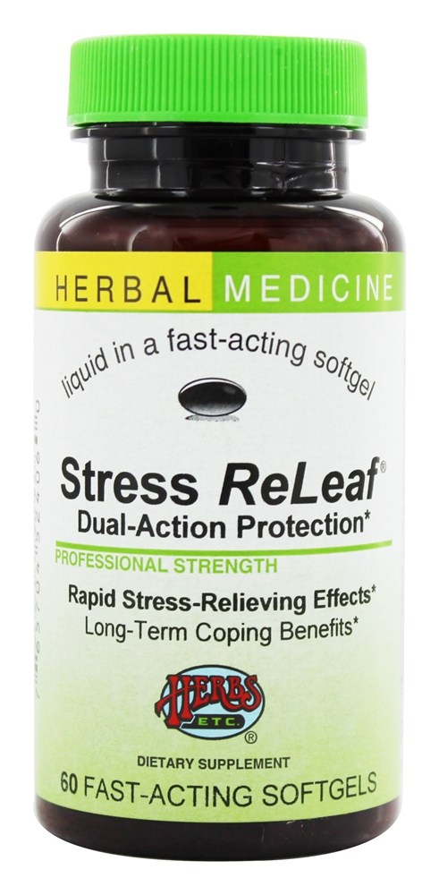Herbs Etc - Stress ReLeaf Dual Action Protection - 60 Softgels