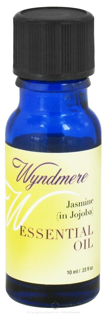Wyndmere Naturals - Essential Oil Jasmine in Jojoba - 0.33 oz.