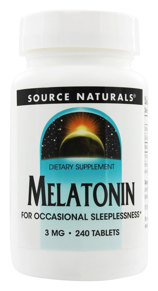 Source Naturals - Melatonin 3 mg. - 240 Tablet(s)