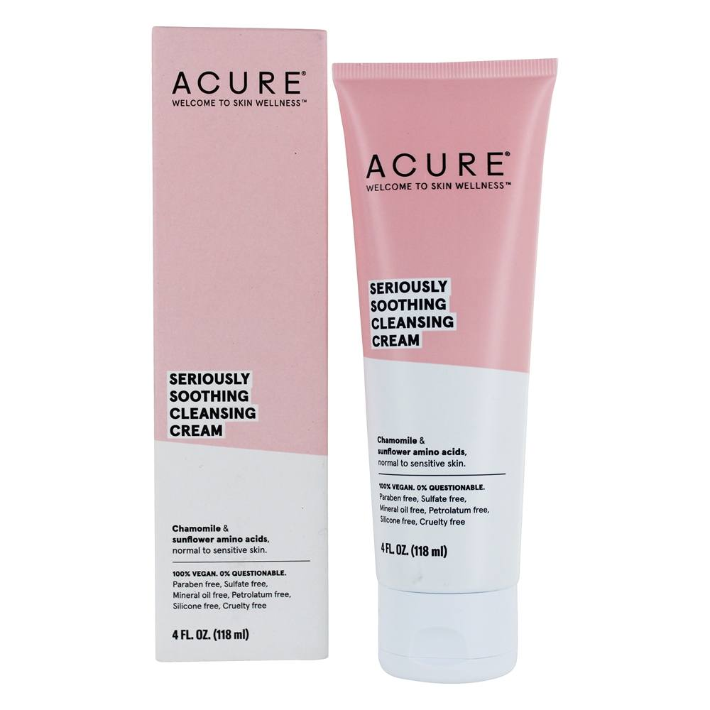 ACURE - Sensitive Facial Cleanser Peony Stem Cell + Sunflower Amino Acids - 4 oz.