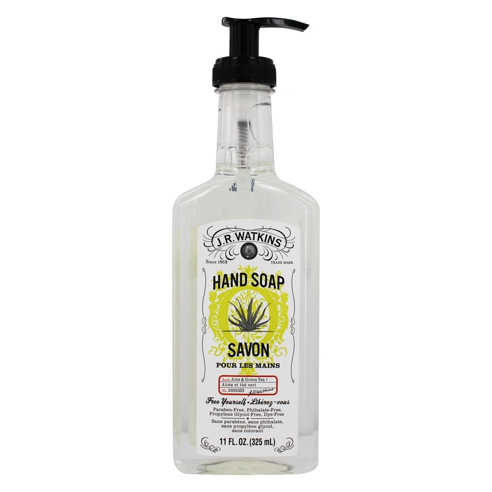 JR Watkins - Natural Home Care Hand Soap Aloe & Green Tea - 11 oz.