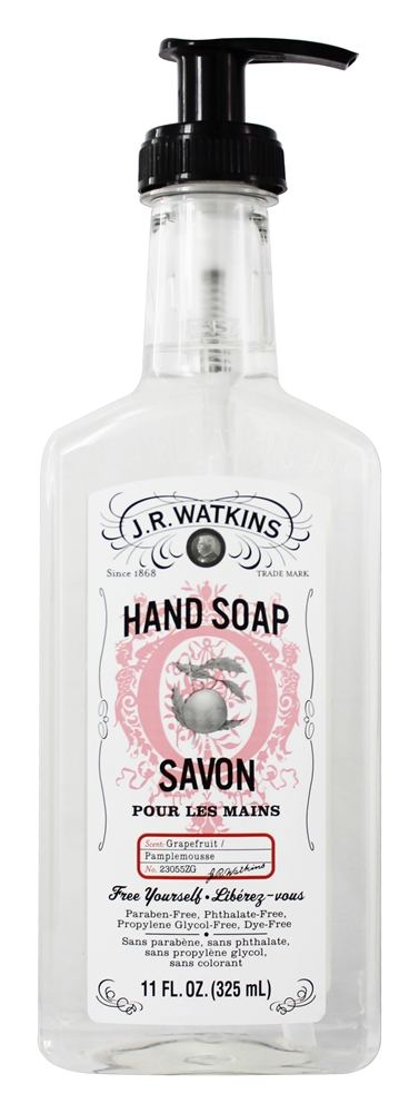 JR Watkins - Natural Home Care Hand Soap Grapefruit - 11 oz.