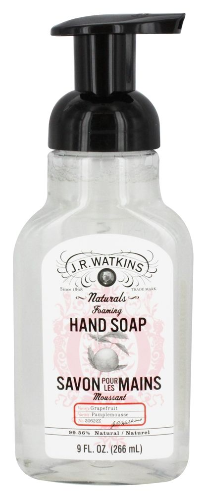JR Watkins - Natural Home Care Foaming Hand Soap Grapefruit - 9 oz.