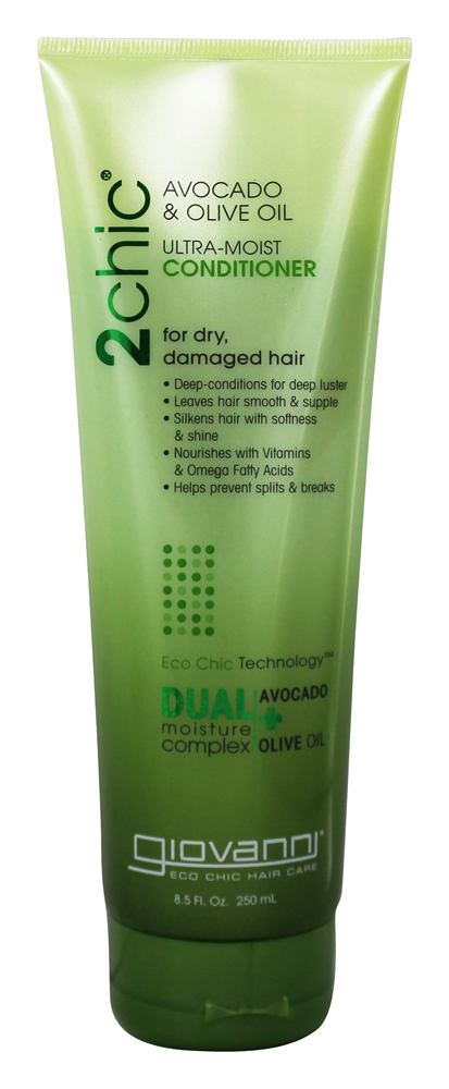 Giovanni - 2Chic Avocado & Olive Oil Ultra-Moist Conditioner - 8.5 oz.