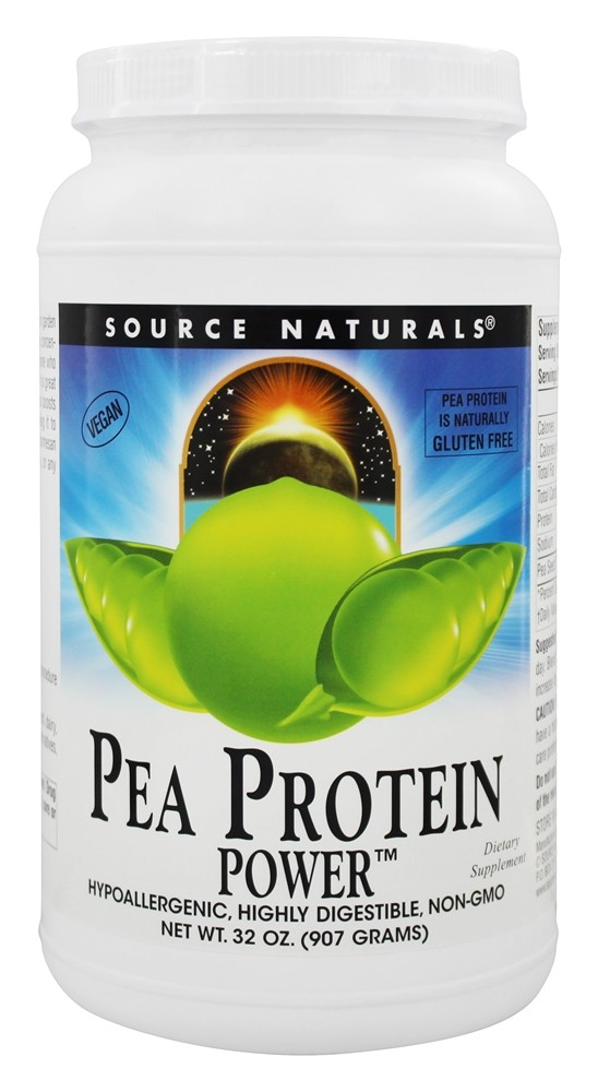 Source Naturals - Pea Protein Power Gluten-Free - 32 oz.
