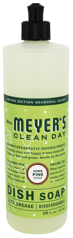Mrs. Meyer's - Clean Day Liquid Dish Soap Iowa Pine - 16 oz.