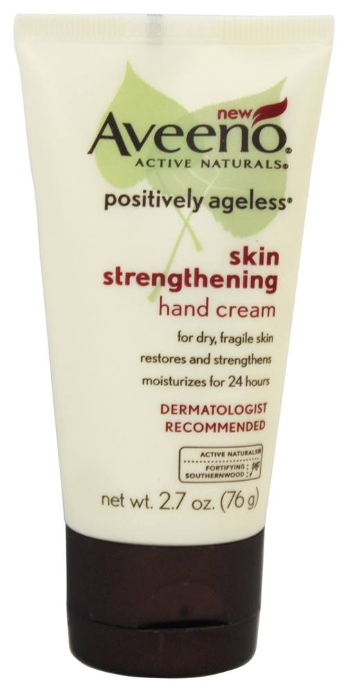 Aveeno - Active Naturals Positively Ageless Skin Strengthening Hand Cream - 2.7 oz.