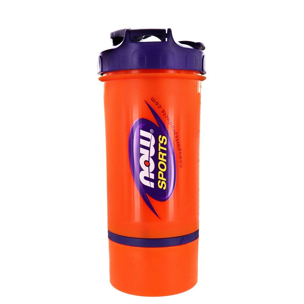 NOW Foods - 3-in-1 Sports Shaker Bottle - 25 oz.