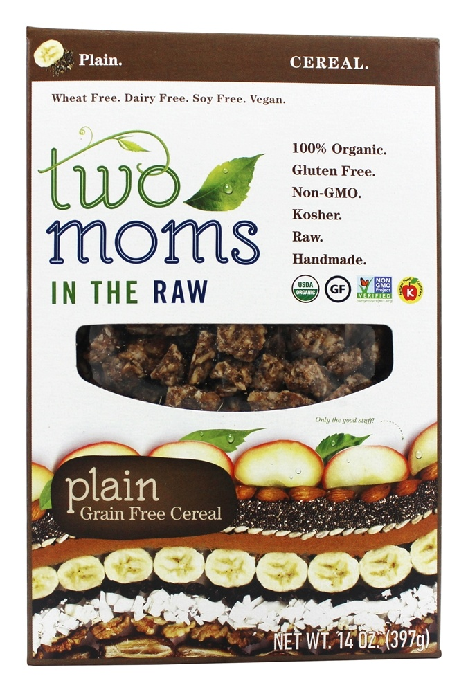 Two Moms in The Raw - Gluten Free Grain Free Cereal - 14 oz.