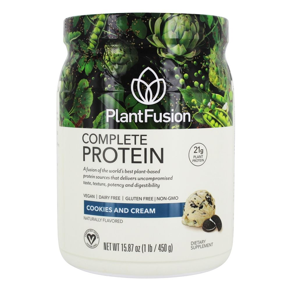 PlantFusion - Complete Plant Protein Cookies N' Creme - 1 lb.