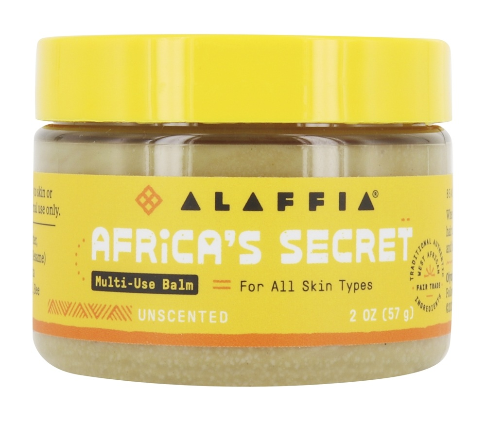 Alaffia - Authentic Africa's Secret Multipurpose Skin Cream - 2 oz.