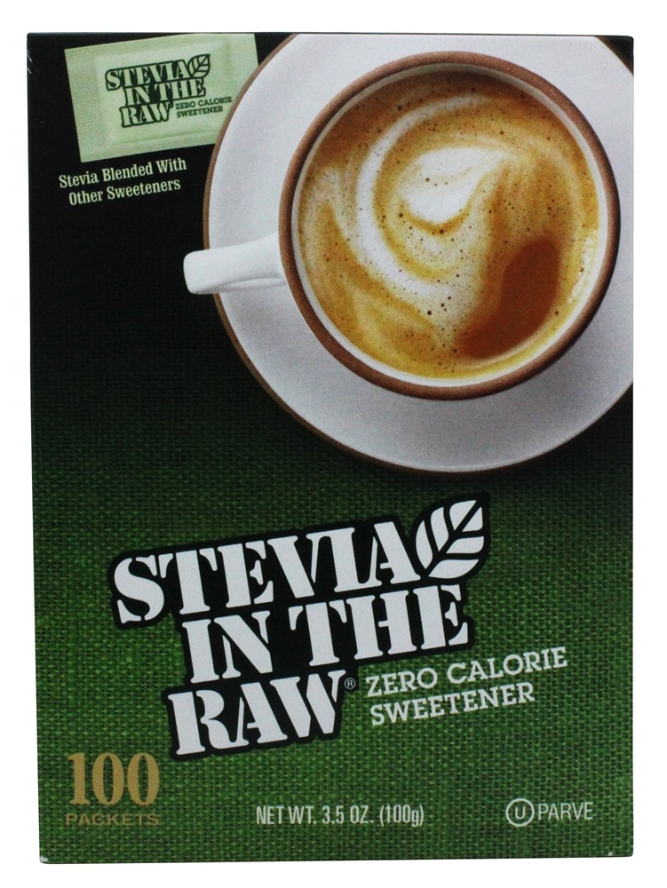 In The Raw - Stevia In The Raw Natural Sweetener - 100 Packet(s)