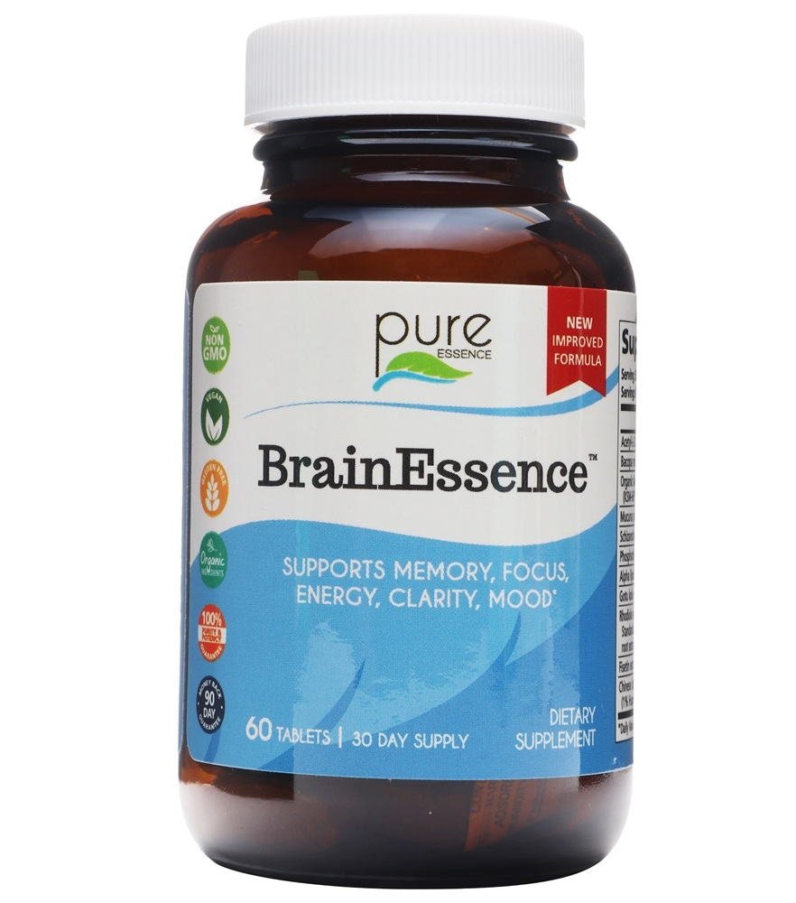 Pure Essence Labs - BrainEssence - 60 Tablet(s)