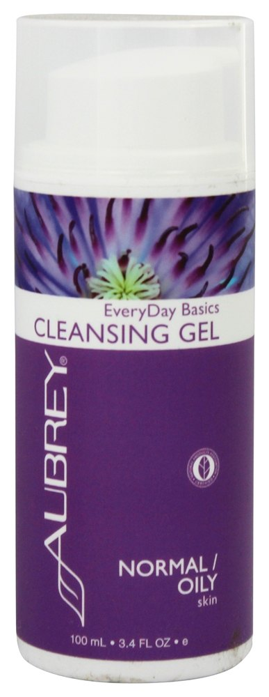 Aubrey Organics - EveryDay Basics Cleansing Gel For Normal/Oily Skin - 3.4 oz.