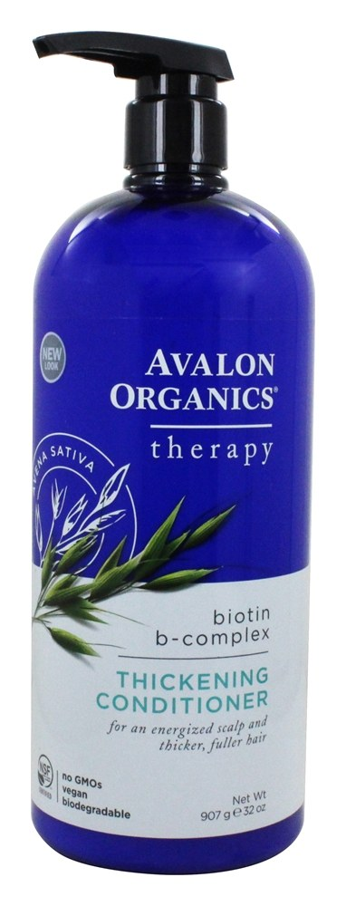 Avalon Organics - Conditioner Thickening Biotin-B Complex - 32 oz.
