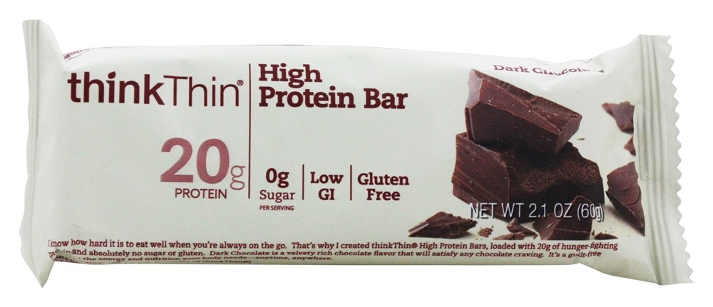 Think Products - thinkThin Protein Bar Dark Chocolate - 2.1 oz.