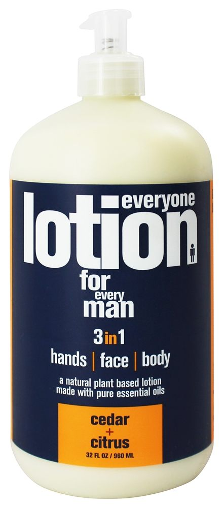 EO Products - Everyone Lotion for Men Cedar & Citrus - 32 oz.