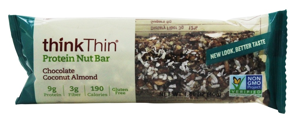 Think Products - thinkThin Crunch Bar Coconut Chocolate Mixed Nuts - 1.41 oz.