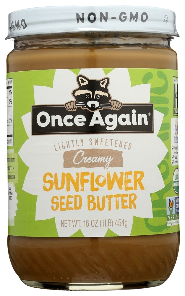 Once Again - Organic Sunflower Seed Butter - 16 oz.