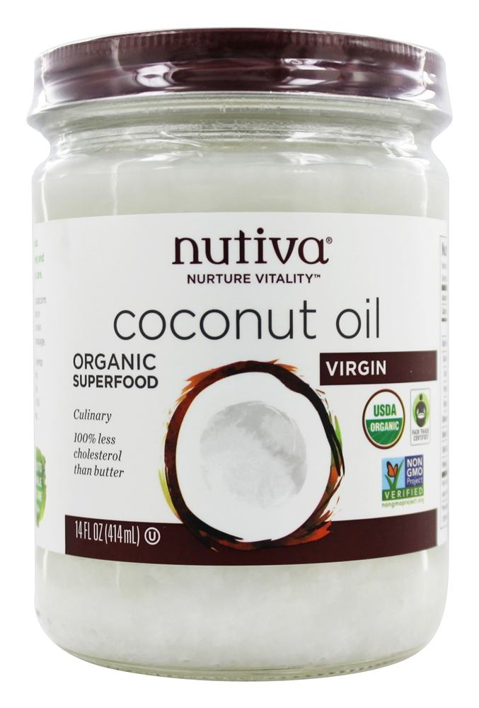 Nutiva - Coconut Oil Organic Virgin - 14 oz.
