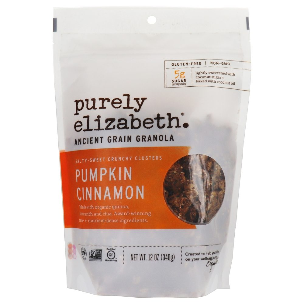 Purely Elizabeth - Ancient Grain Granola Cereal Pumpkin Fig - 12 oz.