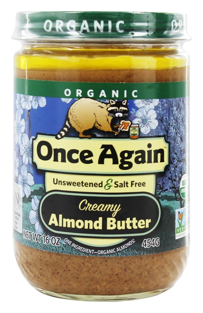 Once Again - Organic Almond Butter Creamy - 16 oz.