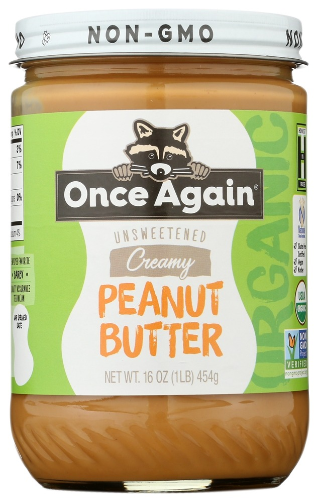 Once Again - Organic Peanut Butter Creamy - 16 oz.