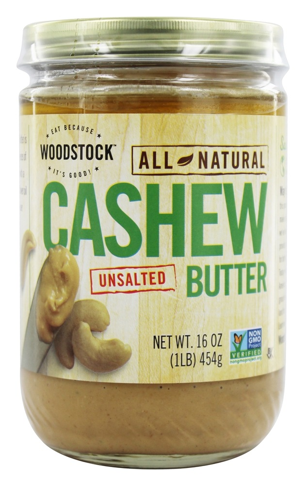Woodstock Farms - All-Natural Cashew Butter Unsalted - 16 oz.