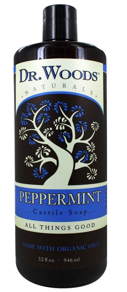 Dr. Woods - Organic Castile Soap Peppermint - 32 oz.