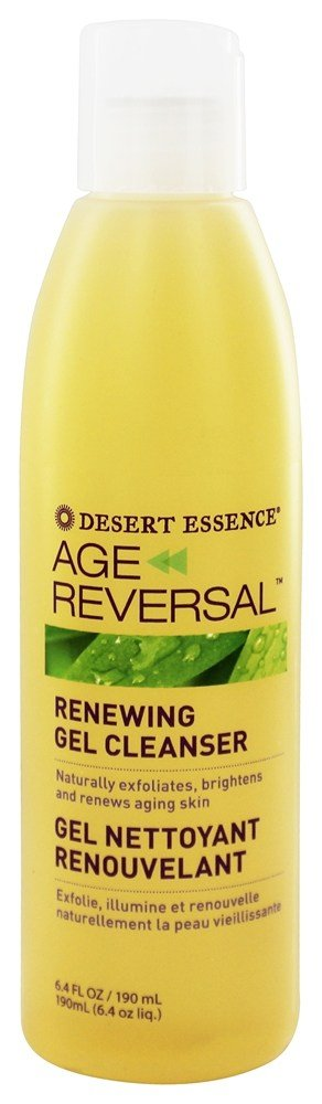 Desert Essence - Age Reversal Renewing Gel Cleanser - 6.4 oz.