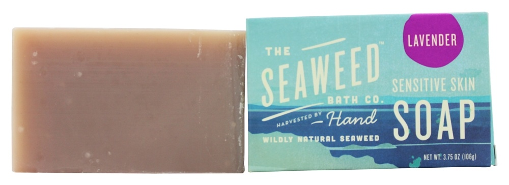 Seaweed Bath Company - Wildly Natural Seaweed Sensitive Skin Soap Lavender - 3.75 oz.