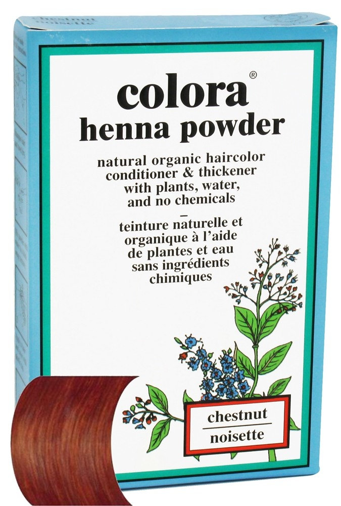 Colora - Henna Powder Natural Organic Hair Color Chestnut - 2 oz.
