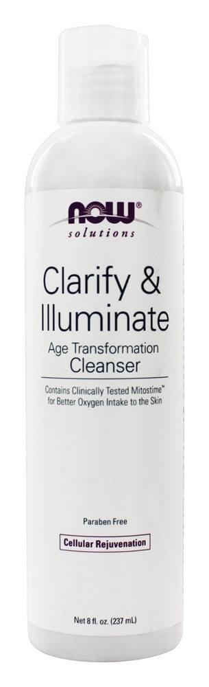 NOW Foods - Clarify & Illuminate Age Transformation Cleanser - 8 oz.