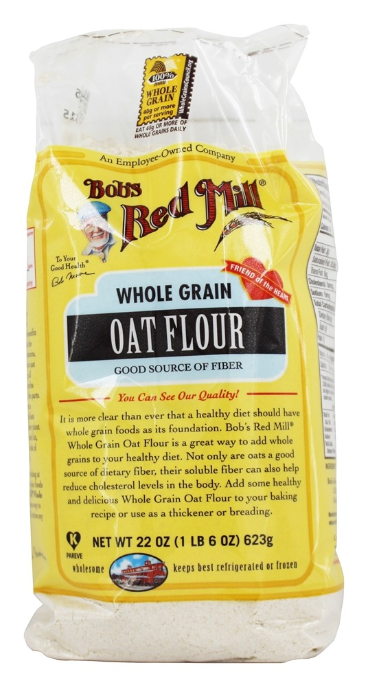 Bob's Red Mill - Whole Grain Oat Flour - 22 oz.