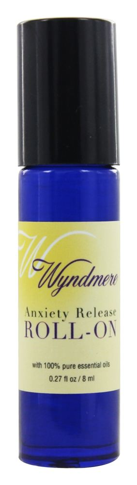 Wyndmere Naturals - Aromatherapy Roll-On Anxiety Release - 0.27 oz.