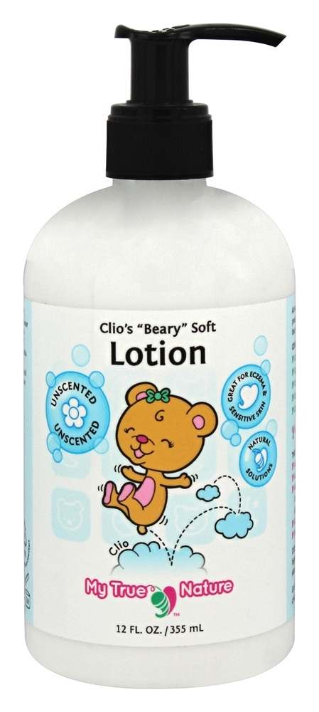 My True Nature - Clio's Beary Soft Lotion - 12 oz.