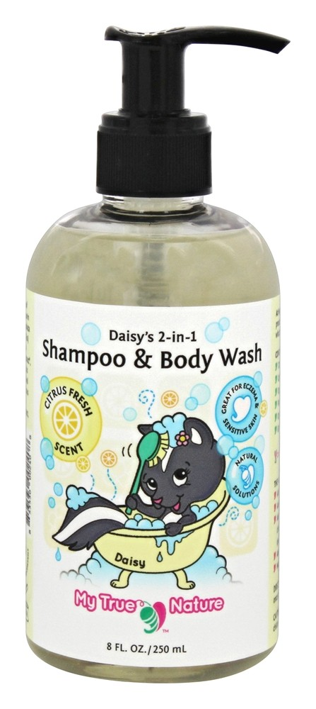 My True Nature - Daisy's 2-In-1 Baby Shampoo & Body Wash Citrus - 8 oz.
