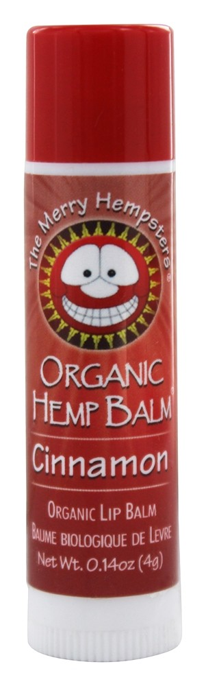 The Merry Hempsters - Organic Hemp Lip Balm Cinnamon - 0.14 oz.