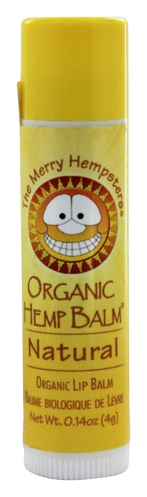 The Merry Hempsters - Organic Hemp Lip Balm Natural - 0.14 oz.