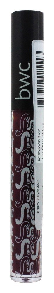 Beauty Without Cruelty - Soft Natural Lip Gloss Rosewood Rave - 0.1 oz.