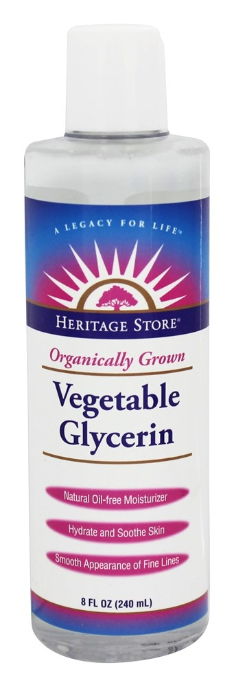 Heritage - Organically Grown Vegetable Glycerin - 8 oz.