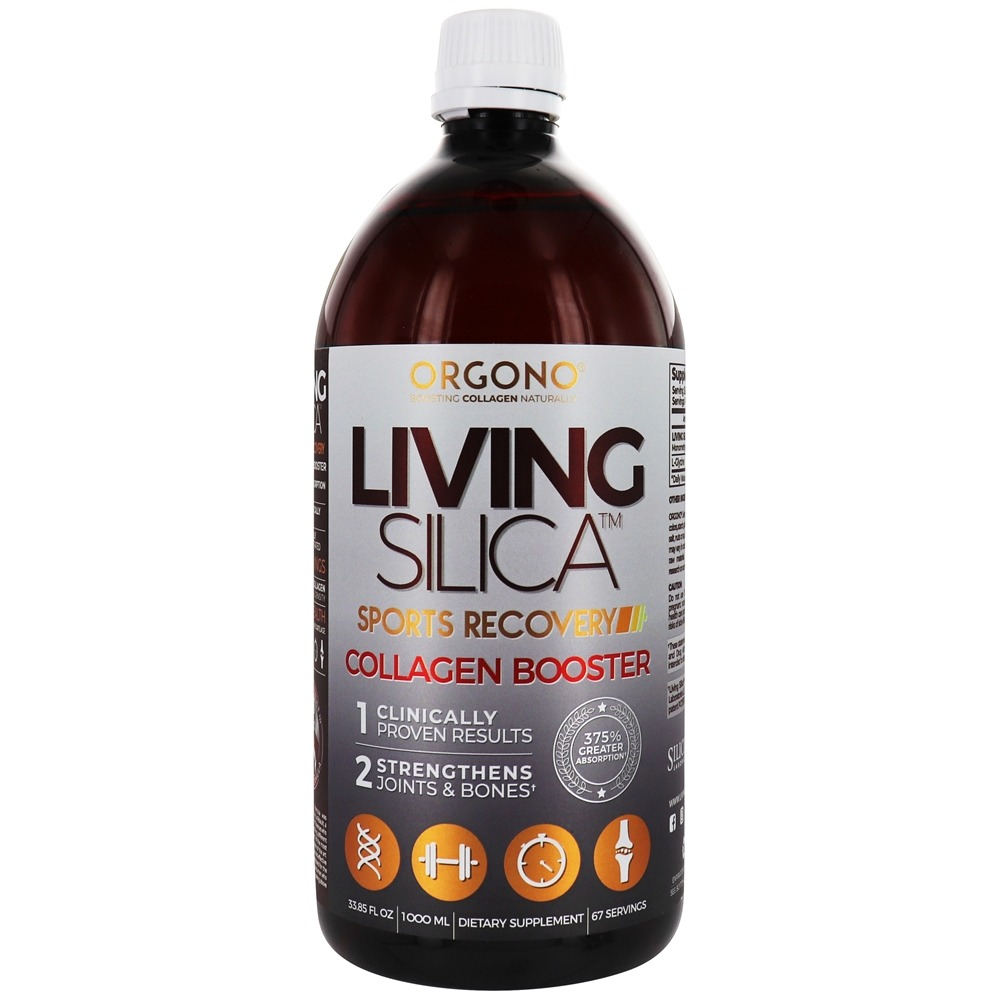 Orgono - Living Silica Sports Recovery Supplement - 33.85 oz.
