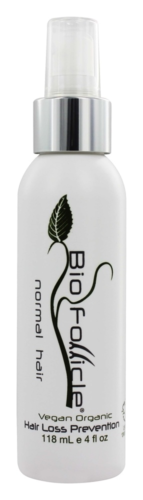 Bio Follicle - Hair Support System Vegan All Natural Treatment Spray For Normal Hair - 4 oz.