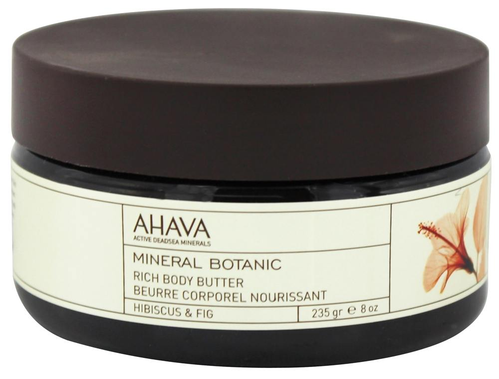 AHAVA - Mineral Botanic Rich Body Butter Hibiscus & Fig - 8 oz.